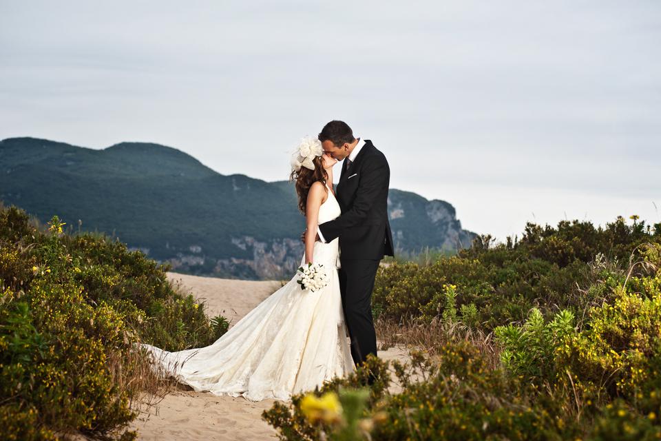 Hochzeitsfotografie am Strand von Laredo, Spanien