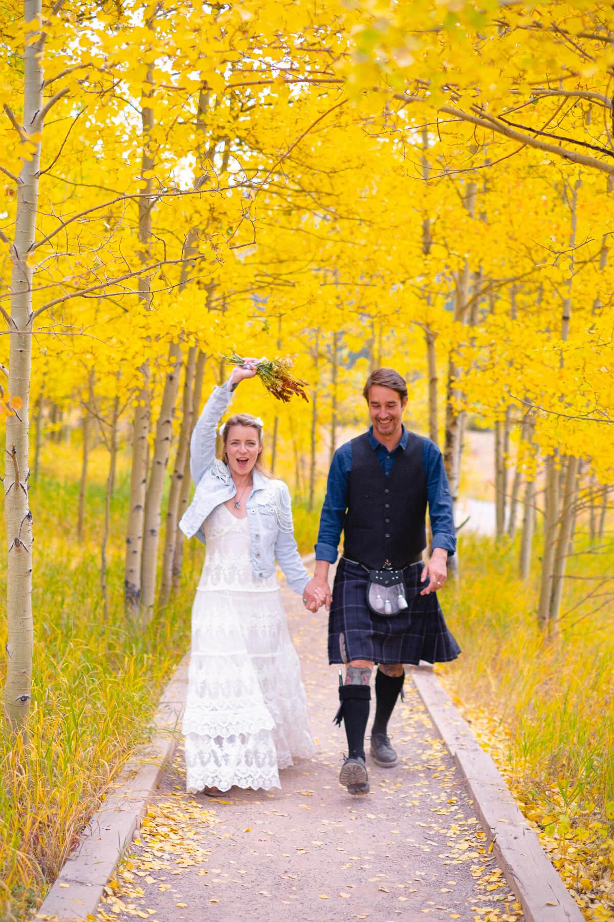 Hochzeitsfotograf in Aspen Colorado