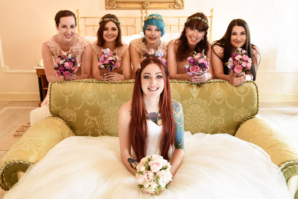 Fotoshooting Bride's Maids