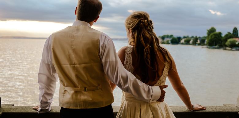 Hochzeitsfotografie im Schloss Langenargen am Bodensee